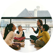 Lesson with primary schoolchildren